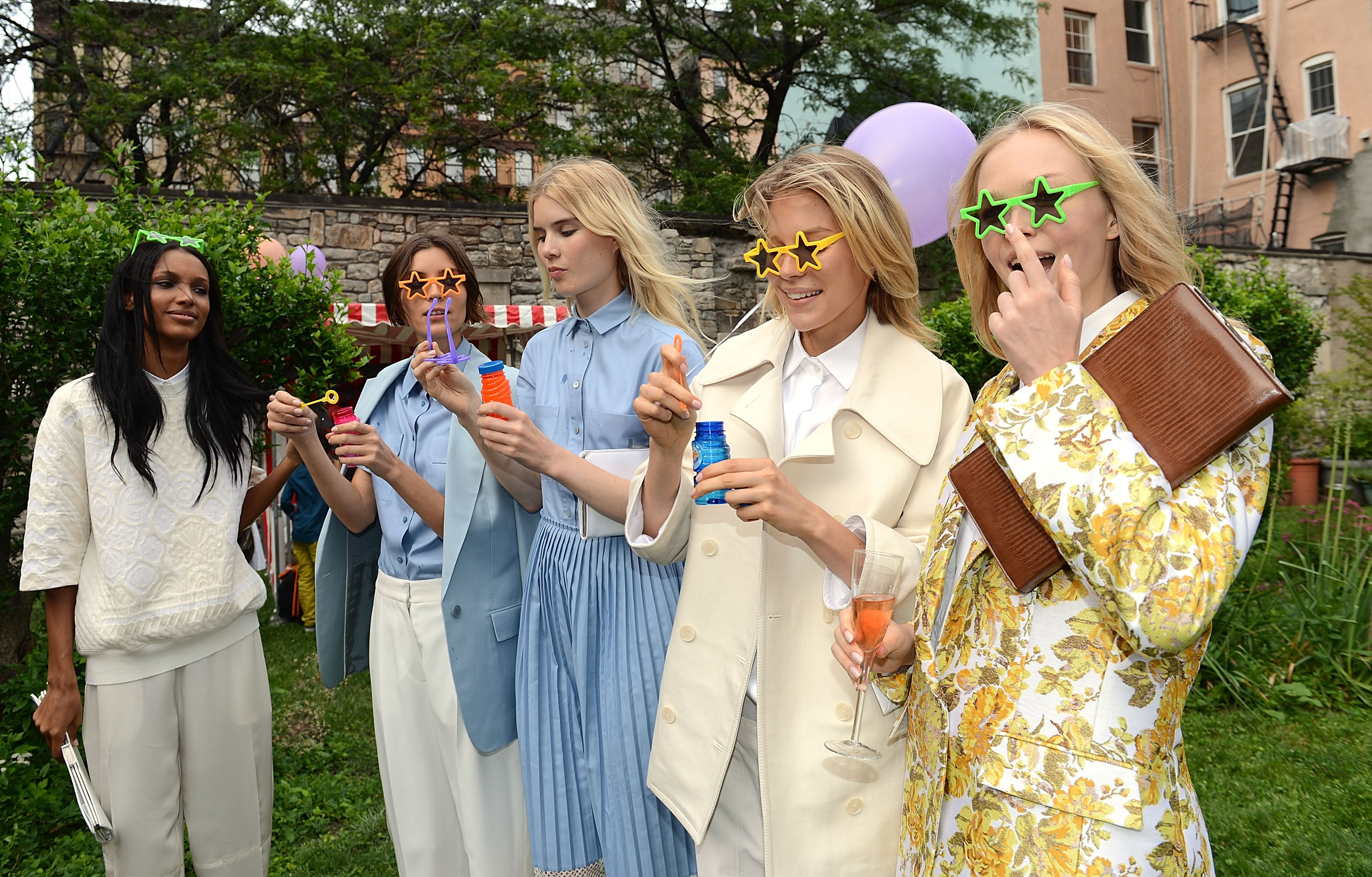 Spring Cocktail Garden Party Celebrity Fashion Show Hearing 88