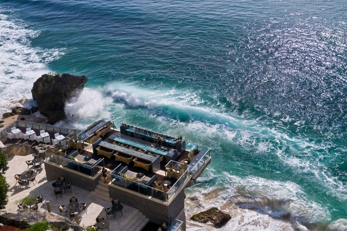 the new Rock Bar at the Ayana Resort Bali